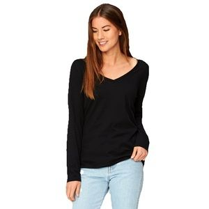 THREADS 4 THOUGHT | Vanessa V Neck Long Sleeve T S